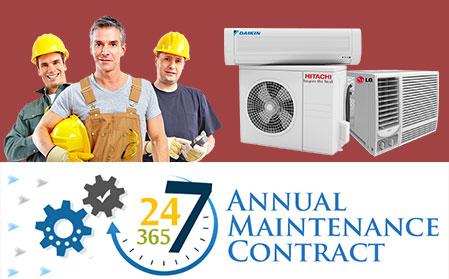 ANNUAL MAINTENANCE CONTRACT | AC Services Dubai | AC Repair Dubai