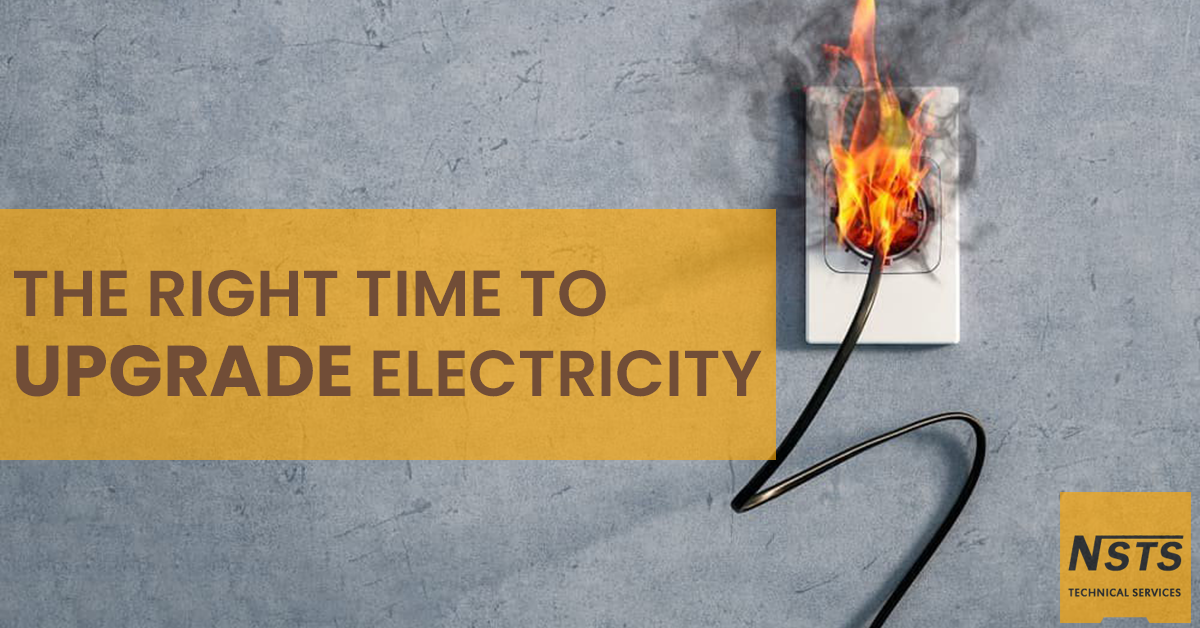 The right time to upgrade electricity