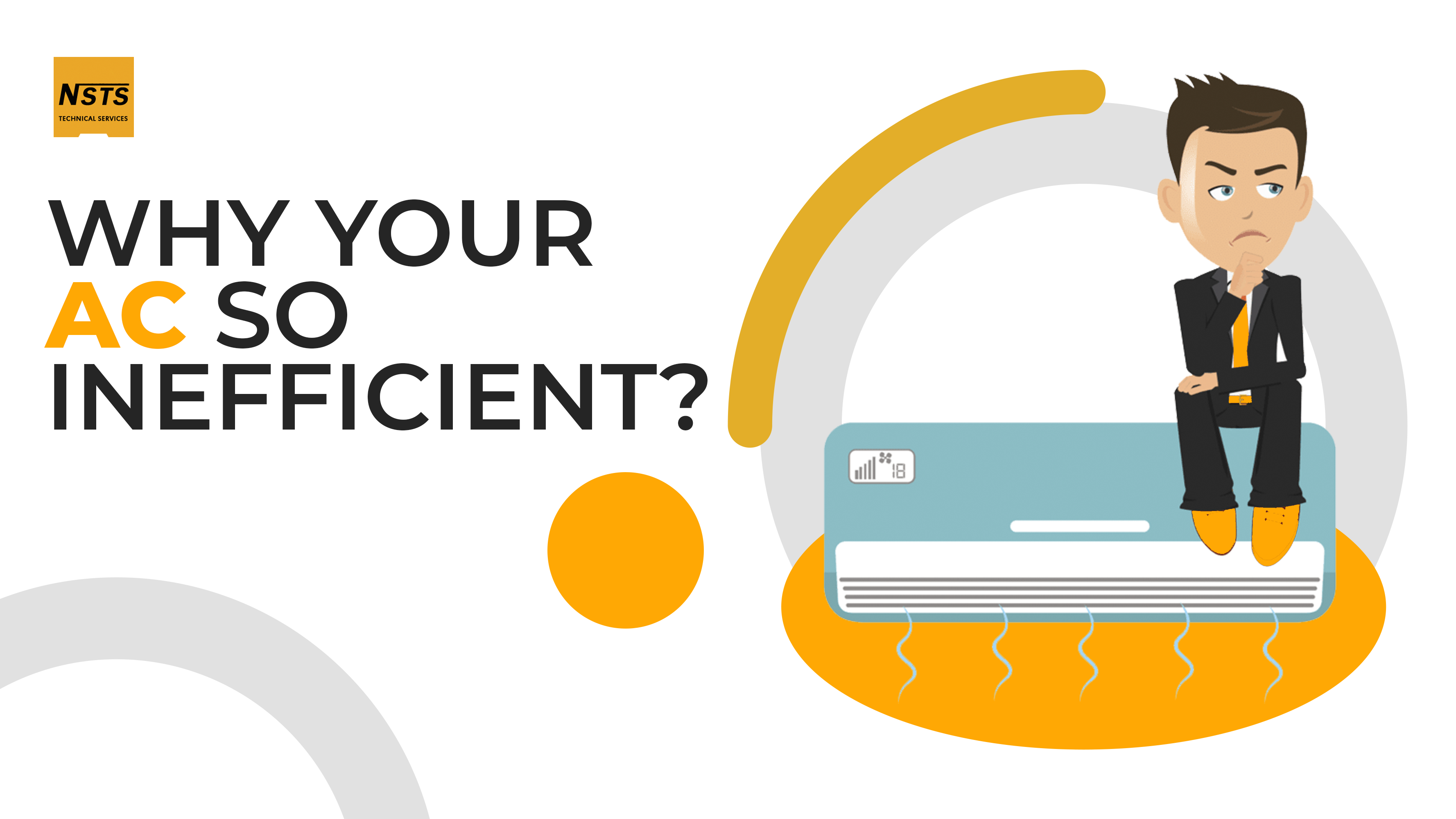 Find out the reasons why is your AC inefficient?