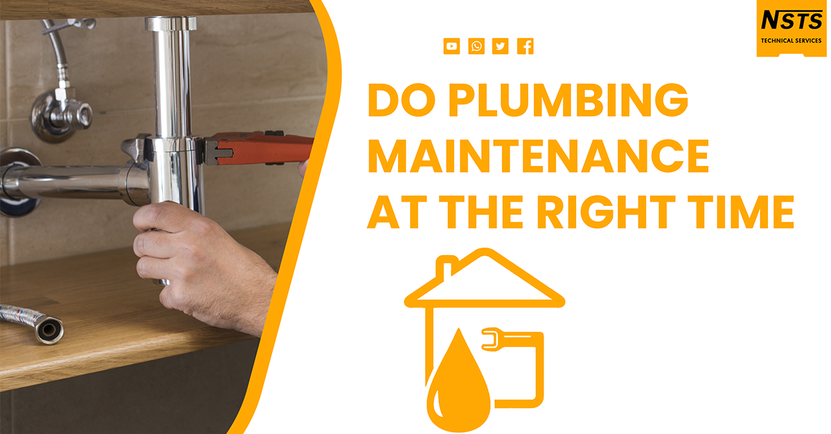 Do Plumbing Maintenance At An Accurate Time