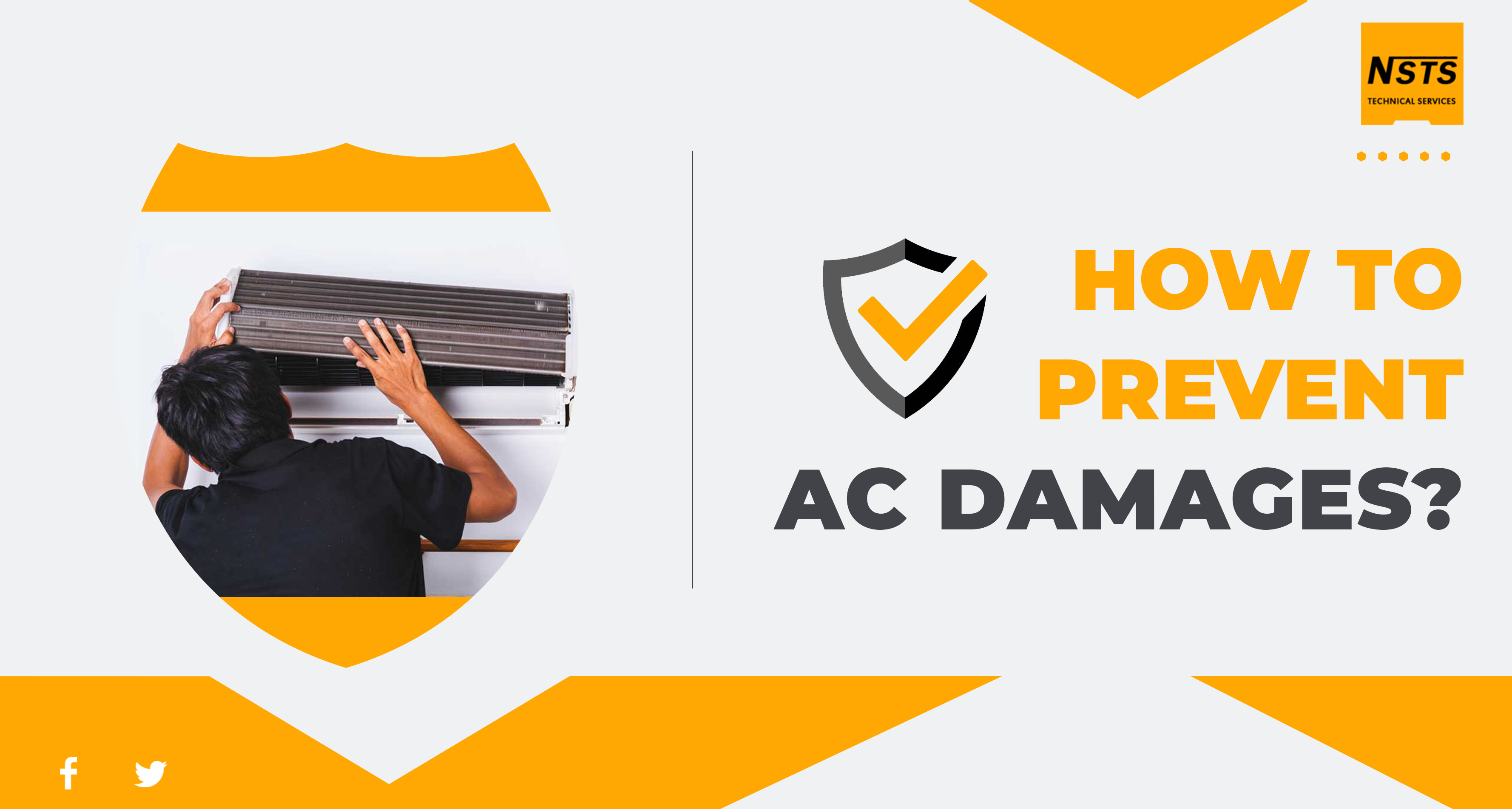 How to prevent AC damages?