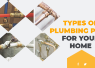 Different types of plumbing pipes for your home